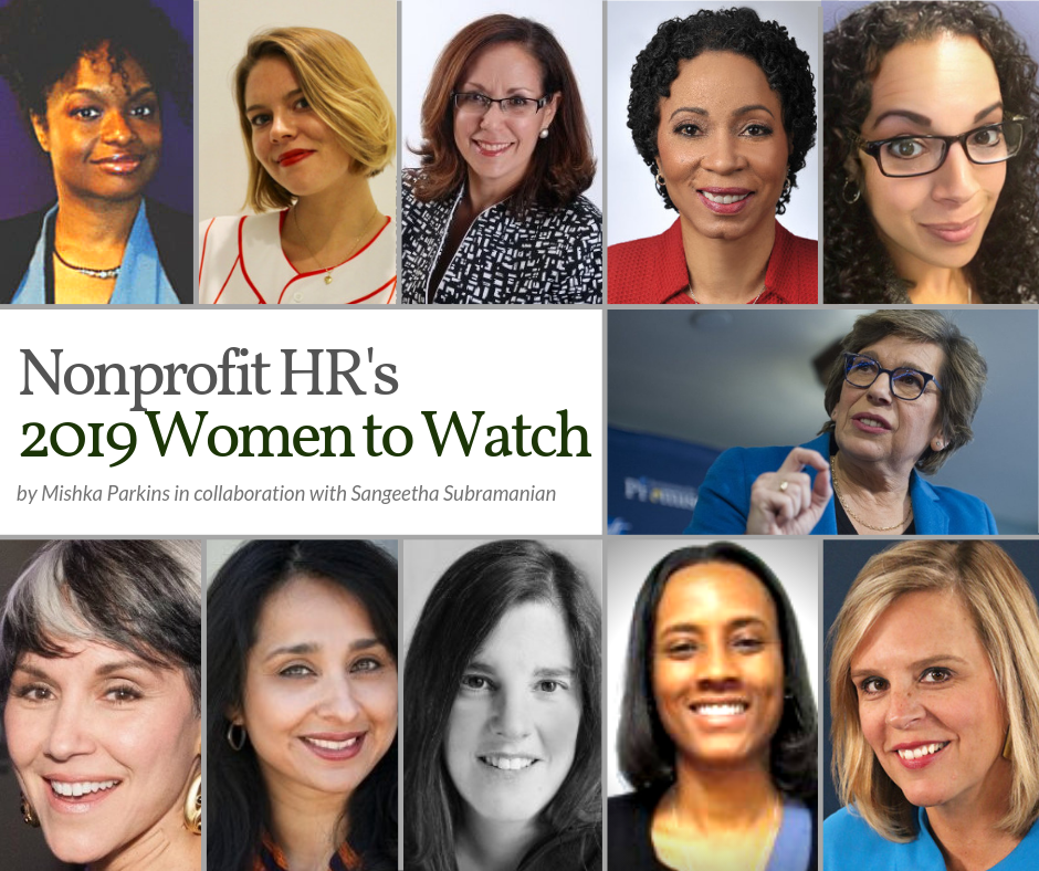 Nonprofit HR Women to Watch